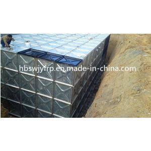 China Fornecedor Hot-Dipped Galvanizado Painel Transversal do Tanque de Água
