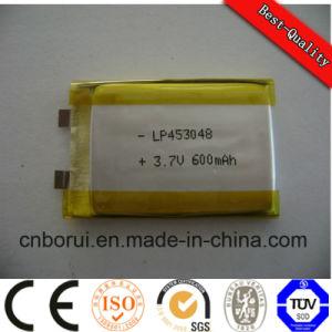 503035 3.7V 500mAh batería recargable de polímero de litio personalizado