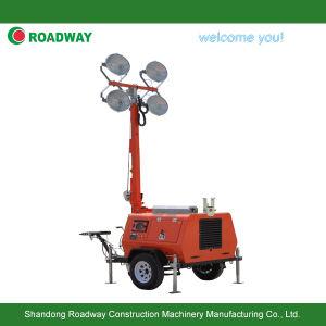 Generador de remolque móvil Torre de Luz