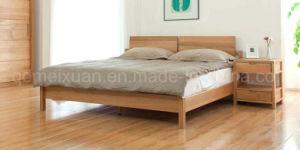 Festes hölzernes Bett-moderne doppelte Betten (M-X2284)
