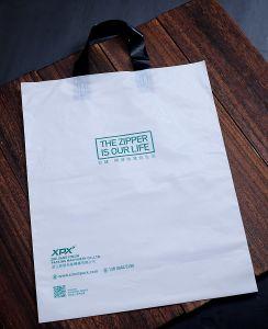 Commerce de gros sac de magasinage en plastique en polyéthylène haute densité pour l'utilisation de supermarché