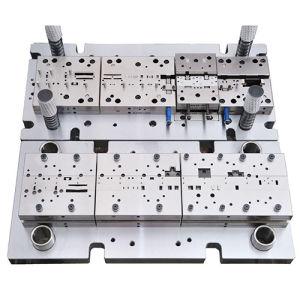Estampación metálica de alta precisión molde para el Terminal electrónico
