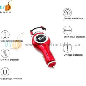 iPhoneおよびタイプCのための小型USB車の充電器