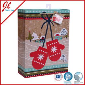 Il regalo di timbratura caldo di natale del feltro insacca i sacchi di carta di natale
