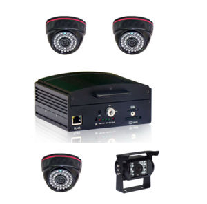 4 canales SD/HDD Mobile Dvr con WiFi/3G/GPS/G-Sensor