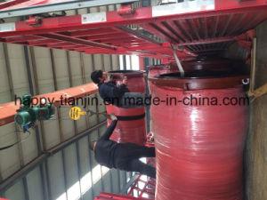 Tubo flessibile resistente della gomma di consegna di aspirazione dei residui del fango dell'abrasione