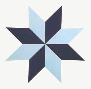 De blauwe Verglaasde Spaanse Stijl van het Porselein Tile20*20cm
