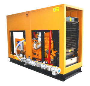 60Hz 1800rpmのBiogasの発電機400kw 500kVAの無声機構