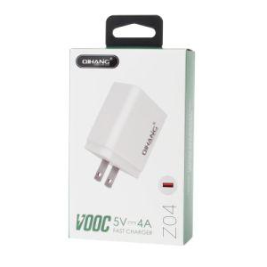 Z04 4A Vooc стойку быстрого мобильного телефона USB адаптер зарядного устройства