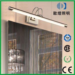 12W 95-265V 3000-6000K Espejo LED de luz de la pared frontal de acabado de oro