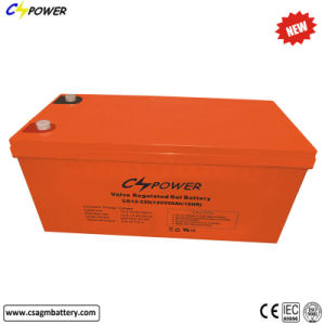 中国の太陽エネルギーシステムゲル電池、12V/230ah