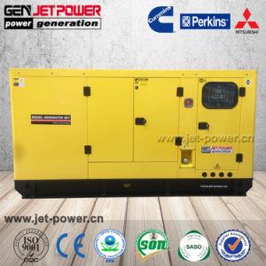 Diesel diesel silenzioso Genset del generatore 220/380V 50Hz 3phase della Perkins 45kVA