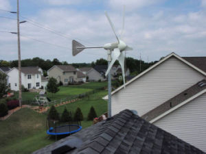 Fonergy 1kw Wind-Turbine-Wind-hybride helle Solarbrise beginnen oben