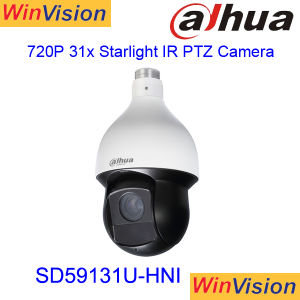 IP PTZ van het Gezoem van sD59131u-Hnipoe van Dahua 1MP 31X de Camera van de Veiligheid van kabeltelevisie