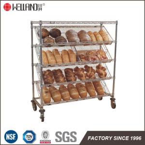 يمال 5 صفاح [مولتيستوري] كروم معدن خبز [ديسبلي رك] ترفيف صاحب مصنع