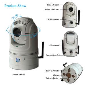 IP van het Voertuig van kabeltelevisie PTZ van het Netwerk van de 1080P4G WiFi Veiligheid Camera