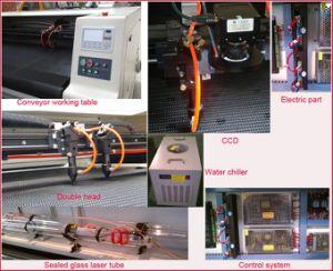 Flatbed Scherpe Machine van de Laser van Co2 van de Ballon van de Brand Inflatables