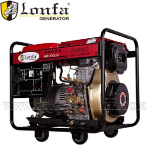 6kVA 전기 디젤 엔진 발전기 Kama 인도에 있는 디젤 엔진 발전기 가격