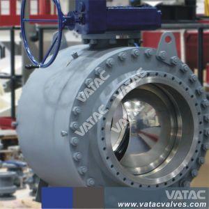3PC Caixa de engrenagens flangeados de Aço Inoxidável Porta completa da Válvula de Esfera Fixa (Q341F)