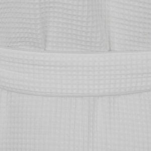 Polyester 35% van 65% de Badjas van het Hotel van de Kraag van de Sjaal van de Katoenen Stof van de Wafel