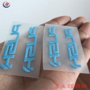 Custom 3D de silicone de borracha do logotipo em vinil de transferência de calor para a etiqueta de vestuário