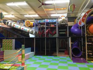 Fabbricazione dell'interno della strumentazione del campo da giuoco di tema dello spazio di divertimento di acclamazione