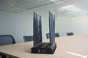 CDMA, GSM, DCS, PCS, 3G, 4G, VHF, UHF, GPS, señal WiFi Jammer 16 bandas