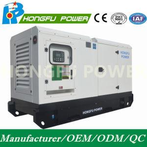직류 전기를 통한 닫집을%s 가진 308kw 385kVA Cummins 디젤 엔진 발전기 또는 발전기 세트