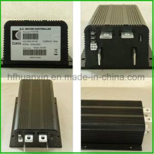 48V 500Aの電気自動車のカーティスDC産業トラックのバンドパレットおよびフォークリフトのためのプログラム可能なモーターコントローラ1205m-5603