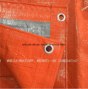Blu/nero/coperta di trattamento concreta arancione