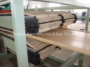 Panel de puerta de PVC WPC Producción línea de maquinaria de extrusión de la junta