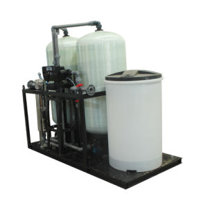 Waterontharder van de Tank FRP van de Hars van de ionenUitwisseling de Automatische