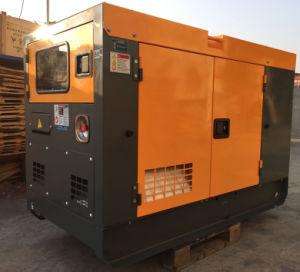 Diesel van Ricardo Engine 50kVA 40kw Super Stille Generator