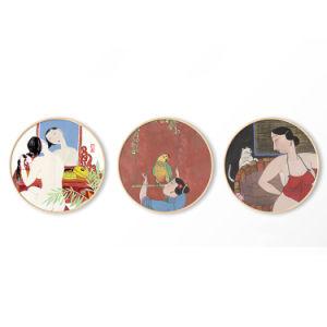 Maschera nuda di arte della parete della pittura della tela di canapa dell'olio delle donne del sesso di HD/maschera della pittura a olio per la decorazione domestica