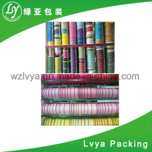 ロゴの個人化された印刷のサテンの絹の綿布の習慣によって印刷されるGrosgrainのリボン