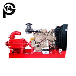 Pompe à eau centrifuge entraînée par moteur diesel pour l'assèchement
