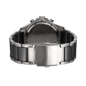 Il caso rotondo, cronografo, equipaggia il modello di ceramica, modello di natale