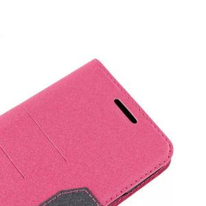 Samsung S7 가장자리를 위한 지갑 카드 구멍 손가락으로 튀김 가죽 상자