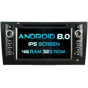 Android 8.0 Witson huit coeurs de DVD pour voiture Audi A6/S6/RS6