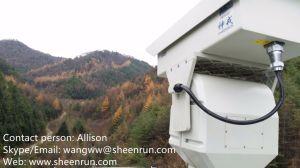 camera van de Thermische Weergave van de Lens PTZ van 100mm de Infrarode