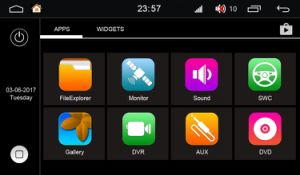 Plataforma Android 7.1 S190 2 DIN AUTO-RÁDIO LEITOR DE DVD para Kia Rio com /WiFi (TID-Q504)
