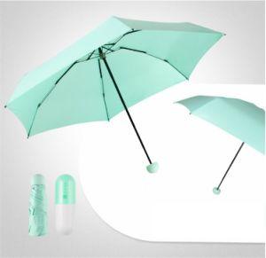 5つのフォールドの傘のためのカスタムプラスチックケース