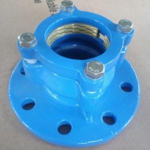 Accesorios de tubería de fundición dúctil para tubos de plástico y equipos