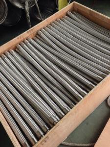 Tubo flessibile durevole dell'intrecciatura del metallo flessibile di alta qualità con i montaggi/flangia