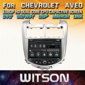 Witson Pantalla táctil de Windows DVD para coche Chevrolet Aveo