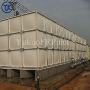 La Chine célèbre fabricant de réservoir d'eau Fiberglassfrp de coupe