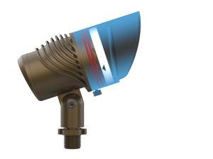 Luz LED para iluminación del jardín de césped con ángulo de luz y el poder de control Bluetooth RGBW ajustable