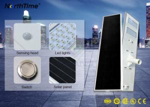 5 anni della garanzia dell'alloggiamento di alluminio di indicatore luminoso di via solare Integrated