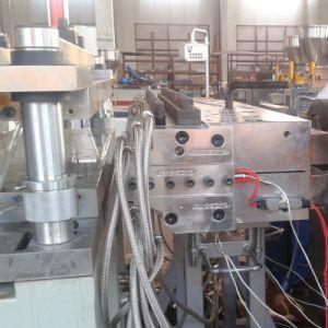Le WPC en plastique PVC Extrusion de feuilles de mousse de plancher Conseil  Making Machine d'extrusion de l'extrudeuse