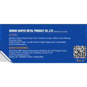 Matériel de construction métalliques de l'écrou plaqué laiton